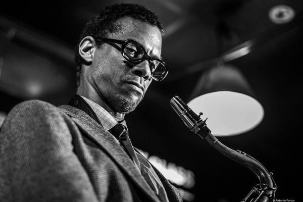 Mark Turner (2016) in Jimmy Glass Jazz Club. Valencia.