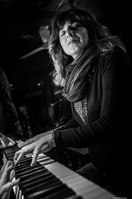 Kontxi Lorente (2018) at Jimmy Glass Jazz Club. Valencia
