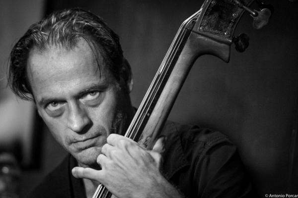 François Moutin (2015) in Jimmy Glass Jazz Club. Valencia