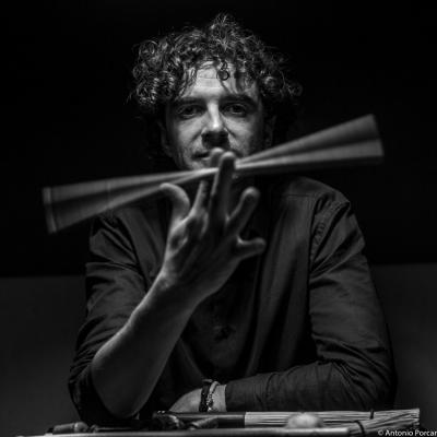 Carlos López (2016) in Jimmy Glass Jazz Club. Valencia.
