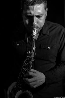 Ernesto Aurignac (2016) in Jimmy Glass Jazz Club. Valencia
