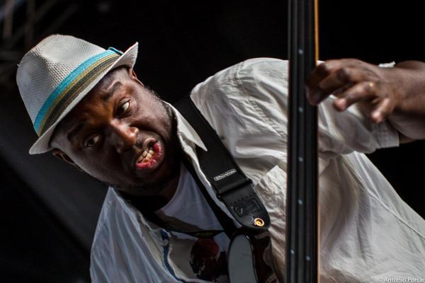 Charnett Moffett in Getxo Jazz 2015