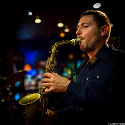 Ernesto Aurignac (2016) in Jimmy Glass Jazz Club. Valencia