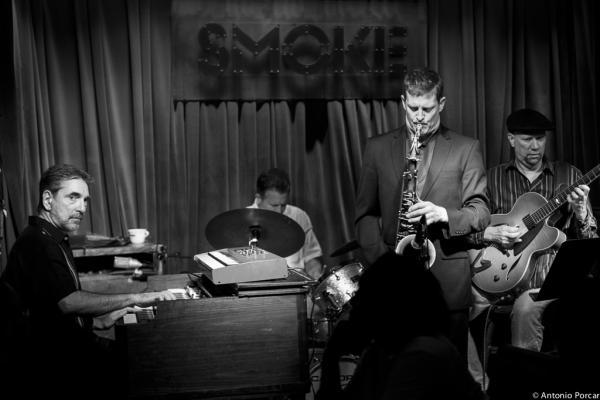 Mike Ledonne Quartet at Smoke (2014)