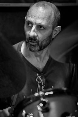 Jorge Rossy (2016) in Jimmy Glass Jazz Club. Valencia.