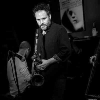 Jason Rigby (2016) in Jimmy Glass Jazz Club. Valencia.