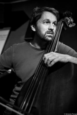 Pablo Martín Caminero (2015) in Jimmy Glass Jazz Club. Valencia