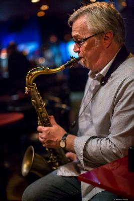 Kirk MacDonald (2017) at Jimmy Glass Jazz Club. Valencia.