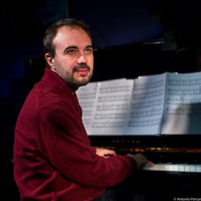 Moisés P. Sánchez (2016) at Jimmy Glass Jazz Club. Valencia.