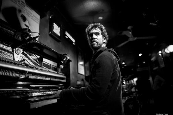 Aaron Parks (2017) in Jimmy Glass Jazz Club, Valencia.