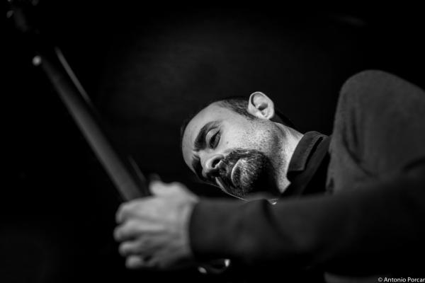 Yul Ballesteros (2016) in Jimmy Glass Jazz Club. Valencia
