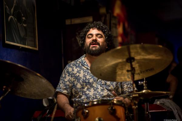 Miguel Benito (2016) in Jimmy Glass Jazz Club. Valencia.