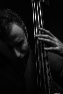 Chris Morrissey (2016) in Jimmy Glass Jazz Club. Valencia.