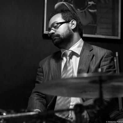 Igor Tavan (2015) in Jimmy Glass Jazz Club. Valencia