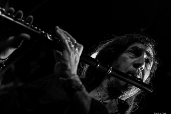 Jorge Pardo (2016) in Jimmy Glass Jazz Club. Valencia