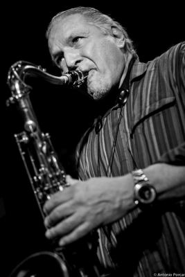 Jerry Bergonzi (2015) in Jimmy Glass Jazz Club. Valencia