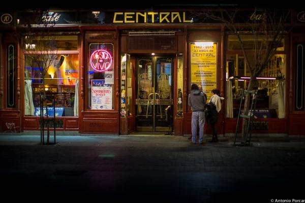 Café Central. Madrid.