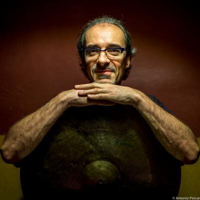 Andrea Michelutti (2015) in Jimmy Glass Jazz Club. Valencia