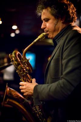"Francisco ""Latino"" Bla nco (2015) en Jimmy Glass Jazz Club. Valencia"