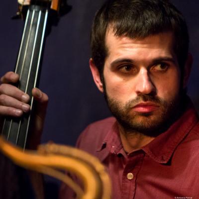 Javi Pérez (2016) in Jimmy Glass Jazz Club. Valencia
