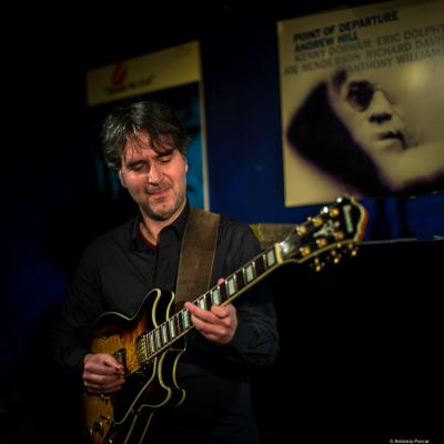 Hugo Fernández (2017) at Jimmy Glass Jazz Club. Valencia.