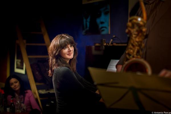 Kontxi Lorente (2015) en Jimmy Glass Jazz Club. Valencia