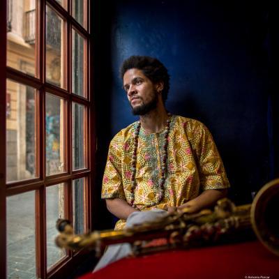 Ariel Bringuez (2017) in Jimmy Glass Jazz Club. Valencia.