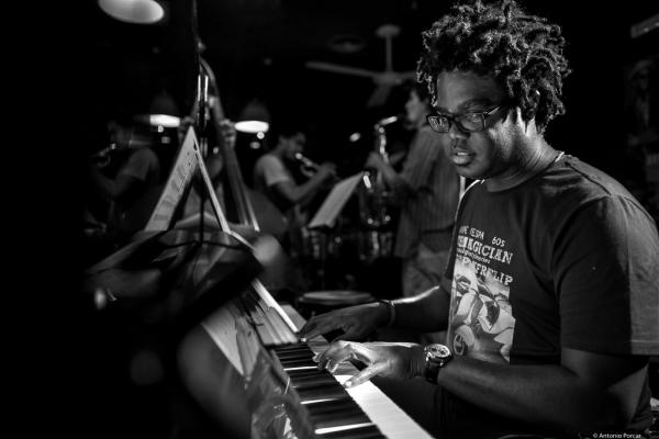 "Iván ""Melón"" Lewis (2016) in Jimmy Glass Jazz Club"