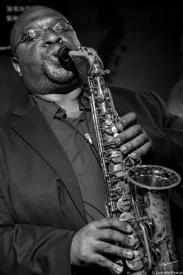 Darius Jones (2014) en Jimmy Glass Jazz Club de Valencia