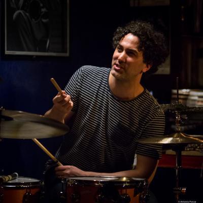 John Hadfield (2016) in Jimmy Glass Jazz Club. Valencia