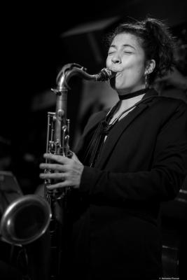 Berta Moreno (2017) in Jimmy Glass Jazz Club. Valencia.