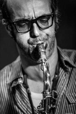 Michaël Attias (2017) at Jimmy Glass Jazz Club. Valencia.