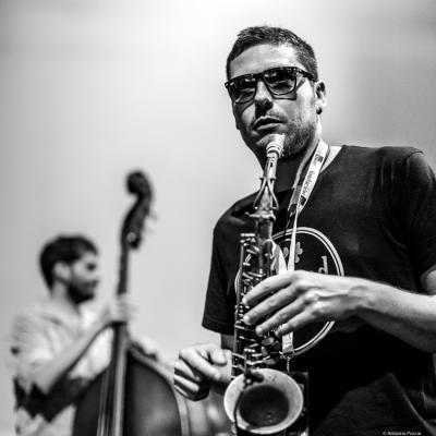 Ernesto Aurignac in Jazz Eñe 2016.
