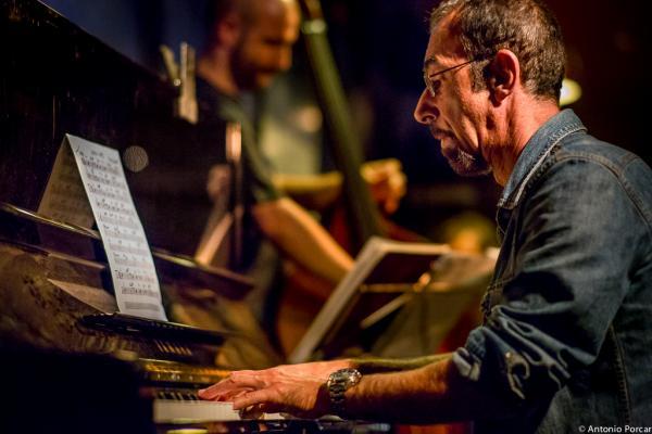 Fabio Miano en Jimmy Glass con Joe Magnarelli y Perico Sambeat