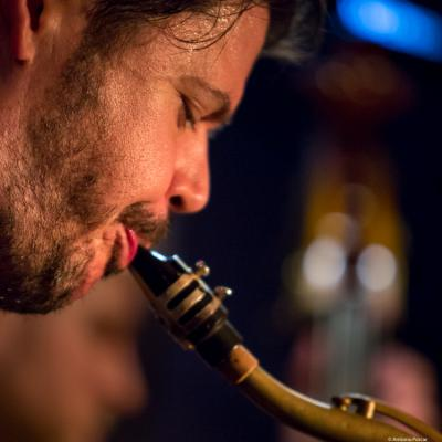 Samus Blake (2017) in Jimmy Glass Jazz Club. Valencia