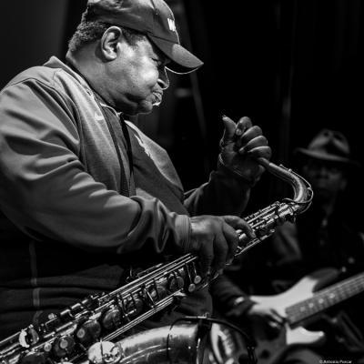 Pee Wee Ellis in III Jazz Palencia Festival.