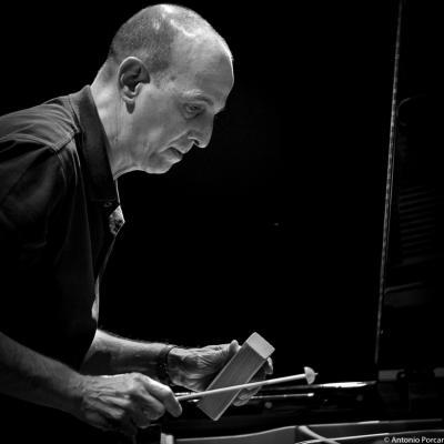 Agustí Fernández (2015) in Jazz Eñe 2015. Teatro Rialto. Valencia.