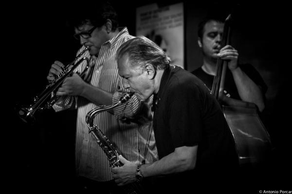 Joe Magnarelli, Jerry Bergonzi yJohnny Åman en Jimmy Glass, Valencia