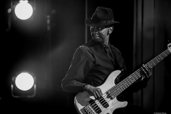 Michael Mondesir in III Jazz Palencia Festival