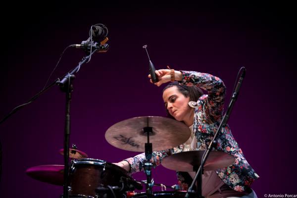 Lucía Martínez in Jazz Eñe 2015. Teatro Rialto. Valencia.