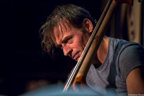 François Moutin (2015) in Jimmy Glass Jazz Club. Valencia