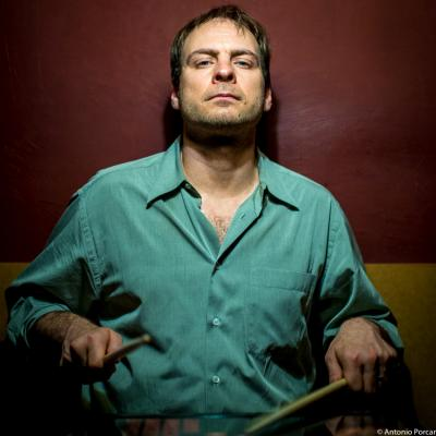 Ari Hoenig (2015) in Jimmy Glass Jazz Club. Valencia