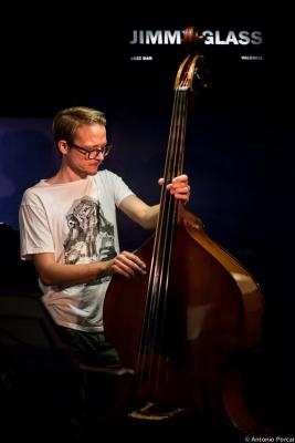 Eivind Opsvik. 2014 at  Jimmy Glass Jazz Bar. Valencia