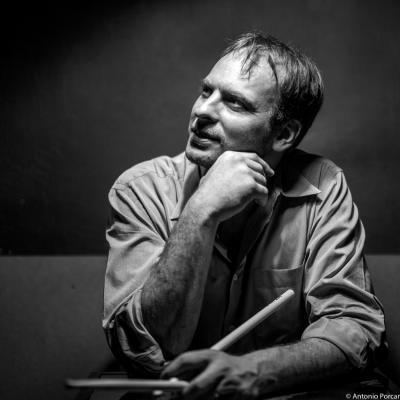Ari Hoenig (2015) in Jimmy Glass Jazz Club. Valencia