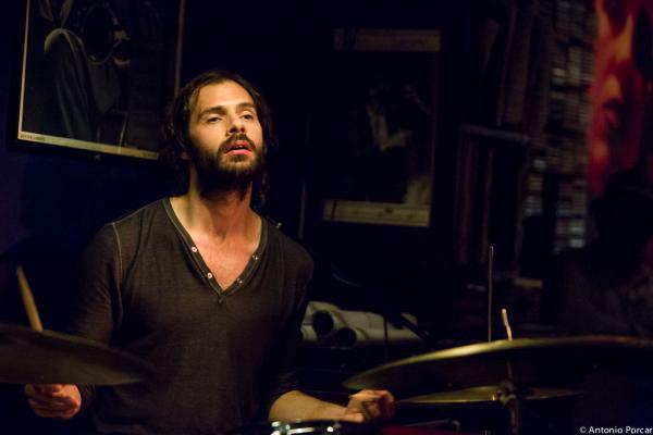 Dan Weiss (2014) in Jimmy Glass Jazz Bar. Valencia.