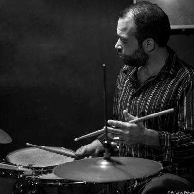 RJ Miller (2015) in Jimmy Glass Jazz Club. Valencia.