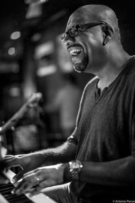 Luis Perdomo (2015) at Jimmy Glass Jazz Club. Valencia.
