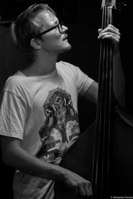 Eivind Opsvik. 2014 at  Jimmy Glass Jazz Bar. Valencia