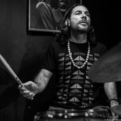 Henry Cole (2015) in Jimmy Glass Jazz Club. Valencia