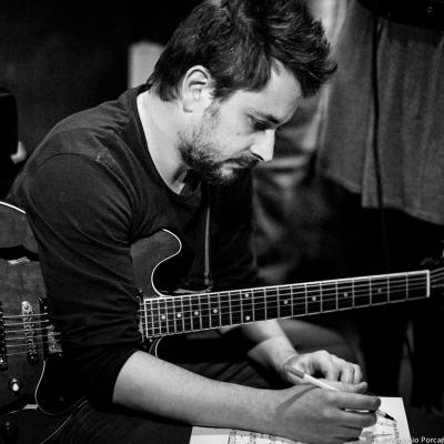 Andre Fernandes (2015) en Jimmy Glass Jazz Club. Valencia.